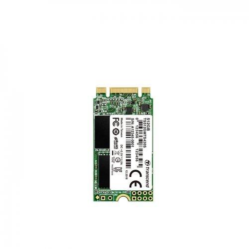 SSD Transcend 512GB, M.2 2242 SSD, SATA3 B+M Key, TLC (снимка 1)