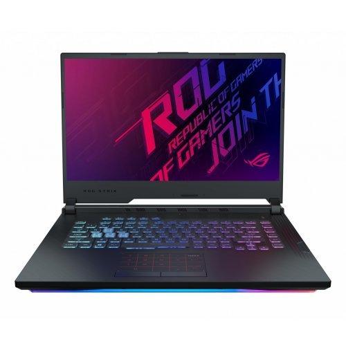 """Лаптоп Asus ROG Strix Hero III G5 1531GW-AZ167T, черен, 15.6"""" (39.62см.) 1920x1080 (Full HD) без отблясъци, Процесор Intel Core i7-9750H (6x/12x), Видео nVidia GeForce RTX 2070/ 8GB GDDR6, 16GB DDR4 RAM, 512GB SSD диск, без опт. у-во, Windows 10 64 ОС, Клавиатура- светеща с БДС (снимка 1)"""