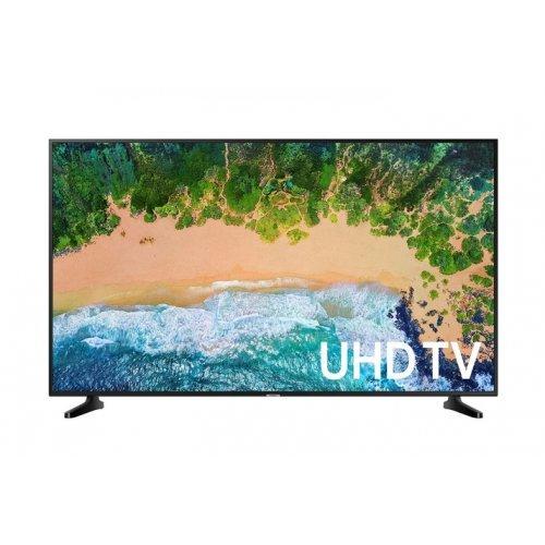 "Телевизор Samsung 40"" 40NU7182 4K LED TV, SMART, 1300 PQI, HDR, QuadCore, DVB-TC(T2 Ready), WI-FI, PIP, 3xHDMI, 2xUSB, Black (снимка 1)"