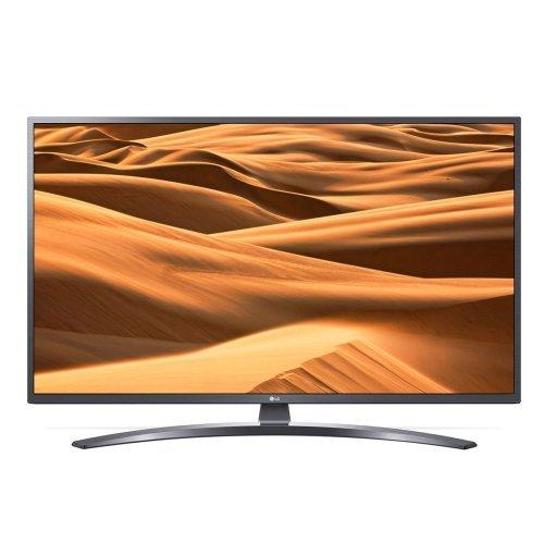 """Телевизор LG 65UM7400PLB, 65"""" 4K UltraHD TV, Smart webOS ThinQ AI, Iron Gray (снимка 1)"""