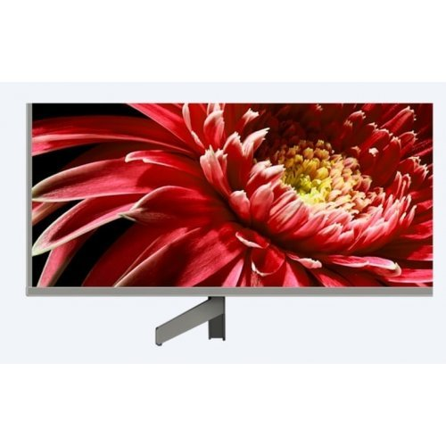 "Телевизор Sony KD-65XG8577 65"" 4K HDR TV BRAVIA, Full Array LED Backlight, Processor 4K HDR Processor X1, Triluminos, Dynamic Contrast Enhancer, Object-based HDR remaster, Android TV 8.0, XR 1000Hz, DVB-C / DVB-T/T2 / DVB-S/S2, USB, Voice Remote, Silver (снимка 1)"