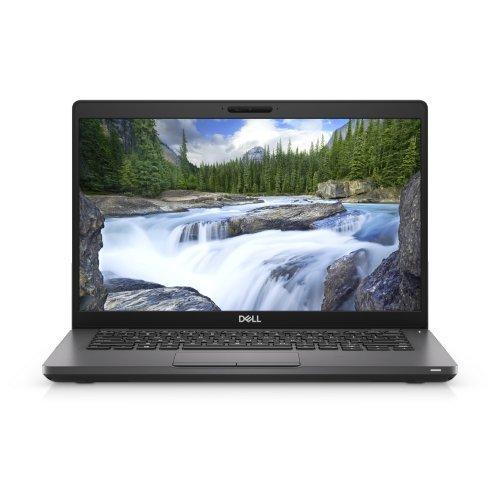 """Лаптоп Dell Latitude 14 5401, черен, 14.0"""" (35.56см.) 1920x1080 (Full HD) без отблясъци, Процесор Intel Core i5-9300H (4x/8x), Видео Intel UHD 630, 8GB DDR4 RAM, 256GB SSD диск, без опт. у-во, Linux Ubuntu 18.04 ОС, Клавиатура- светеща (снимка 1)"""