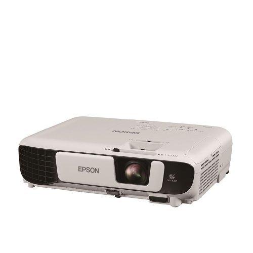 Дигитален проектор Epson EB-W41, WXGA (1280 x 800, 16:10), 3600 ANSI lumens, 15000 : 1, WLAN (optional), HDMI in, USB 2.0 Type B, VGA in,Speakers, Lamp warr: 12 months or 1.000 h, White (снимка 1)