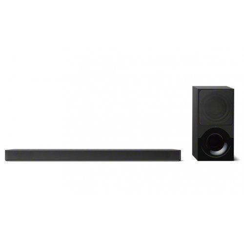 Тонколони за компютър Sony HT-XF9000, 2.1 channel Dolby Atmos / DTS:X soundbar with Wi-Fi and Bluetooth, black (снимка 1)