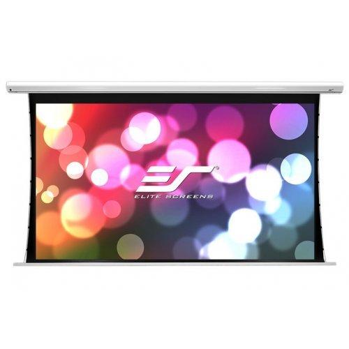 "Екран за проектор Elite Screen SKT120XHW-E10 Saker Tension, 120"" (16:9), 265.7 x 149.6 cm, White (снимка 1)"