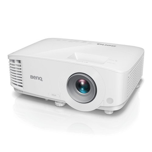 Дигитален проектор BenQ MX731, Network Business Projector, DLP, XGA (1024x768), 20 000:1, 4000 ANSI Lumens, Zoom 1.3x, VGA, HDMI x2, USB type A x2, Audio In/Out, Lan, VGA out, Speaker 10W, USB Reader for PC-Less Presentations, Corner Fit, 2D Keystone, 2.5kg, White (снимка 1)