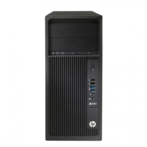 Настолен компютър HP HP Z240 Tower Xeon E3-1245v6, 1WV60EA, Win 10 Pro 64bit (снимка 1)