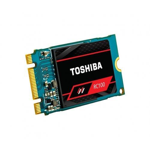 SSD Toshiba RC100-M22242-240G SSD Speicherkarte 240GB M.2 PCIe (снимка 1)