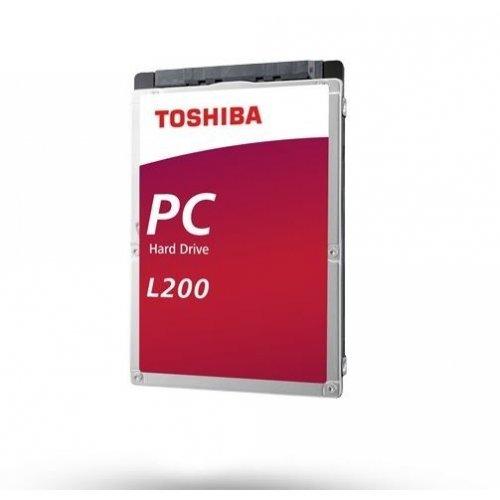 """Твърд диск Toshiba L200 - Slim Laptop PC Hard Drive 2TB 2,5"""", BULK (снимка 1)"""