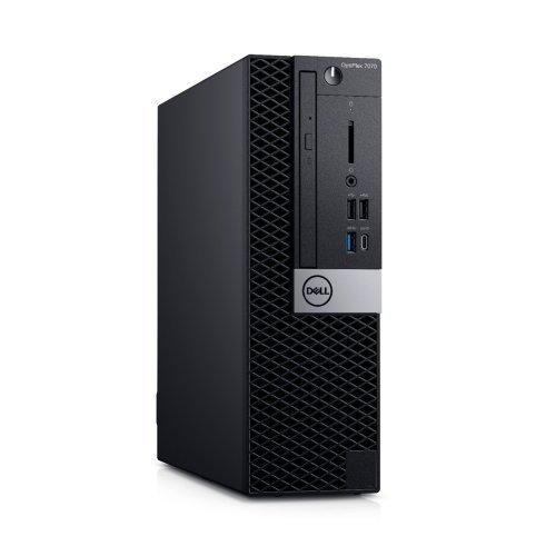 Настолен компютър DELL Dell OptiPlex 7070 SFF, Intel Core i7-9700, N014O7070SFF, Keyboard, Win 10 Pro (64bit) (снимка 1)