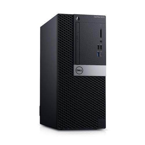 Настолен компютър DELL Dell Optiplex 5070 MT, Intel Core i7-9700, N011O5070MT_UBU, Keyboard, Ubuntu (снимка 1)