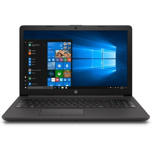 "Лаптоп HP 250 G7 15, черен, 15.6"" (39.62см.) 1920x1080 (Full HD) без отблясъци, Процесор Intel Celeron Dual-Core N4000, Видео Intel UHD 600 Gen 9, 4GB DDR4 RAM, 1TB HDD диск, без опт. у-во, DOS ОС (снимка 1)"