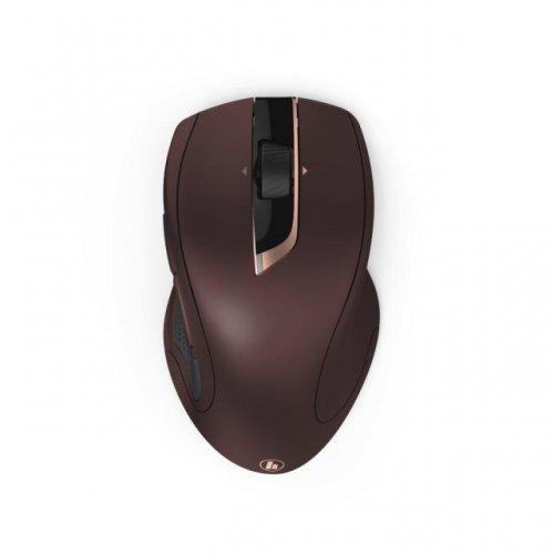 Мишка HAMA MW-900, Auto-dpi, 800-2400 dpi, 7 бутона, бордо, Безжична оптична мишка (снимка 1)