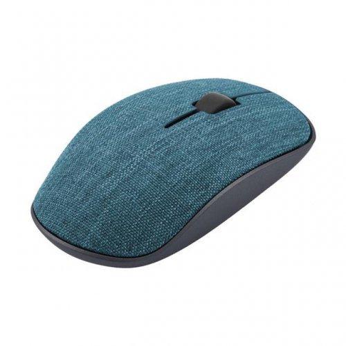 Мишка RAPOO 3510 Plus,синя, с покритие от плат, Безжична оптична мишка  (снимка 1)