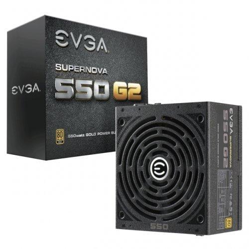 Захранващ блок EVGA SuperNOVA 550 G2 Gold 550W Full Modular (снимка 1)