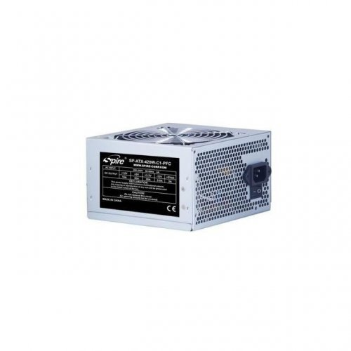 Захранващ блок Spire PSU ATX 420W PFC bulk 120mm fan (снимка 1)