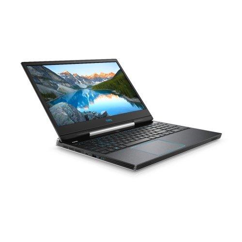 """Лаптоп Dell G5 15 5590, черен, 15.6"""" (39.62см.) 1920x1080 (Full HD) без отблясъци IPS, Процесор Intel Core i7-9750H (6x/12x), Видео nVidia GeForce RTX 2070/ 8GB GDDR6, 16GB DDR4 RAM, 1TB HDD + 512GB SSD диск, без опт. у-во, Windows 10 64 English ОС, Клавиатура- светеща (снимка 1)"""