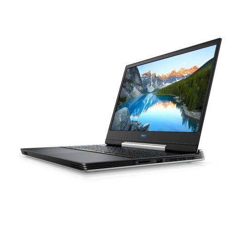 """Лаптоп Dell G5 15 5590, бял, 15.6"""" (39.62см.) 1920x1080 (Full HD) без отблясъци IPS, Процесор Intel Core i7-9750H (6x/12x), Видео nVidia GeForce RTX 2060/ 6GB GDDR6, 16GB DDR4 RAM, 512GB SSD диск, без опт. у-во, Windows 10 64 English ОС, Клавиатура- светеща (снимка 1)"""