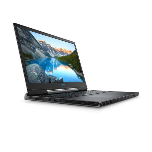 "Лаптоп Dell G7 7790, Intel Core i7-9750H (12MB Cache, up to 4.5 GHz), 17.3"" FHD (1920x1080) IPS, HD Cam, 8GB 2x4 DDR4 2666MHz, 256GB M.2 PCIe NVMe SSD + 1TB HDD, NVIDIA GeForce RTX 2060 6GB GDDR6, 802.11ac, BT, MS Win 10, Abyss Grey, 3YR NBD (снимка 1)"