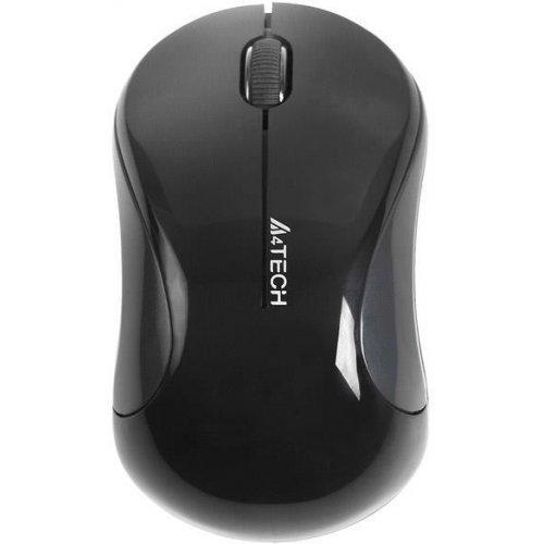 Мишка A4tech G3-270N-4 V-Track, Черен, Безжична оптична мишка (снимка 1)
