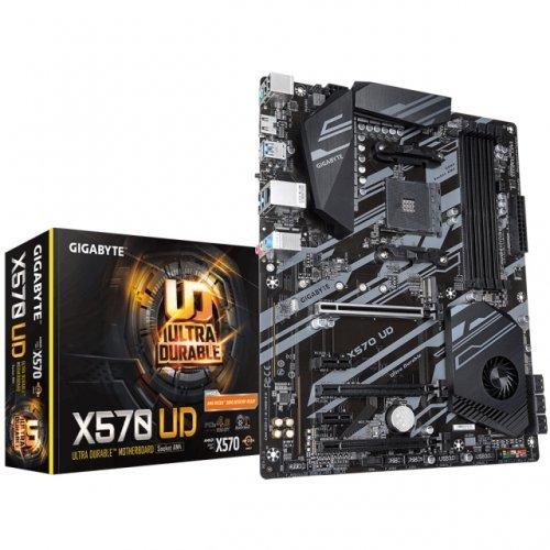 Дънна платка GIGABYTE X570 UD, s. AM4, PCIe 4.0  (снимка 1)