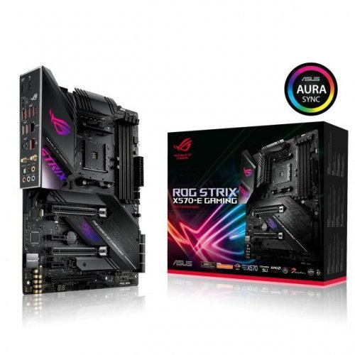 Дънна платка ASUS ROG Strix X570-E Gaming socket AM4, WI-FI 6, 2.5Gbit Lan, Aura Sync, PCIe 4.0 (снимка 1)