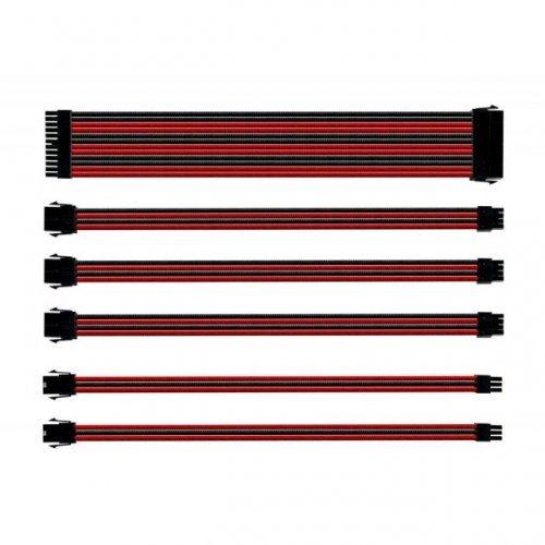 Кабел Комплект оплетени кабели Cooler Master Red & Black (снимка 1)