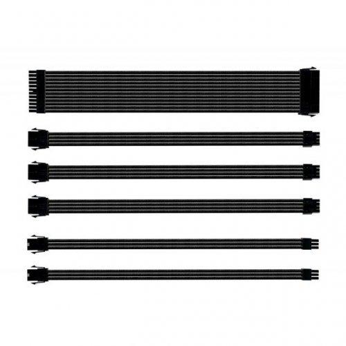 Кабел Комплект оплетени кабели Cooler Master Black (снимка 1)