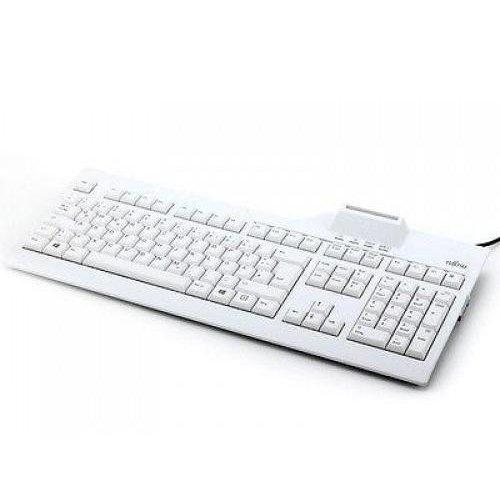 Клавиатура Fujitsu Клавиатура с вграден четец за SMART карти, USB (снимка 1)