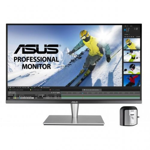 "Монитор ASUS PA32UC-K 32"" Professional Monitor, 4K (3840 x 2160), IPS, Quantum Dot, HDR1000, 384 zones local dimming, 99.5% Adobe RGB/95% DCI-P3, E< 2, X-Rite i1 Display Pro (снимка 1)"