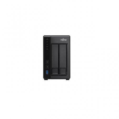 NAS устройство Fujitsu CELVIN NAS QE707, 2 x 2 TB HDD, до 2 х 6TB HDD/SSD (снимка 1)