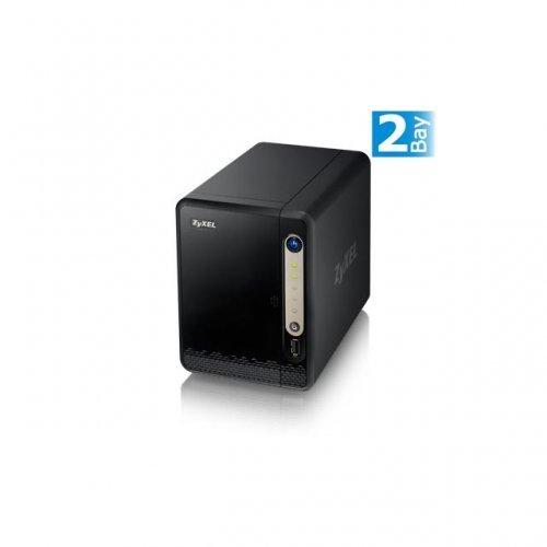NAS устройство ZyXEL NAS 320S, за 2 диска, до 12TB, Гигабит, USB2.0 (снимка 1)