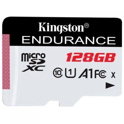 Флаш карта Kingston 128GB microSDHC Endurance Flash Memory Card, Class 10 (снимка 1)