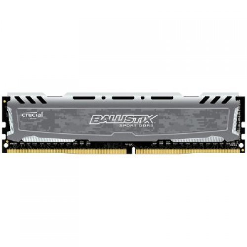RAM памет CRUCIAL 16GB DDR4 3000MHz NON-ECC UDIMM Ballistix Sport LT Gray (снимка 1)