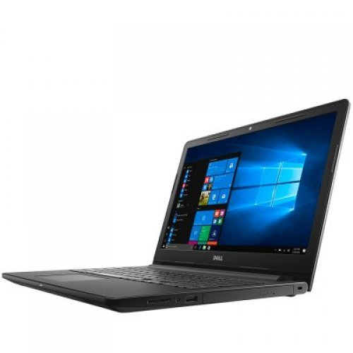 "Лаптоп Dell Inspiron 15 3565, черен, 15.6"" (39.62см.) 1366x768 (HD) без отблясъци 60Hz TN, Процесор AMD A9-9425 Dual-Core, Видео AMD Radeon R5, 4GB DDR4 RAM, 500GB HDD диск, DVDRW, Linux Ubuntu ОС, Клавиатура- с БДС (снимка 1)"