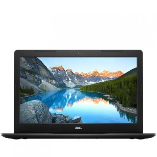 "Лаптоп Dell Inspiron 3583, Core i7-8565U (8MB, up to 4.6 GHz), 15.6"" (1920x1080) Anti-Glare, 8GB (1x8GB) DDR4 2666MHz, 256GB M.2 PCIe NVMe SSD, 45 Watt AC, 3-Cell 42WHr, Radeon 520 2GB, 802.11ac 1x1 WiFi and BT, BG Keyboard, Ubuntu, Black, 2Y CIS (снимка 1)"