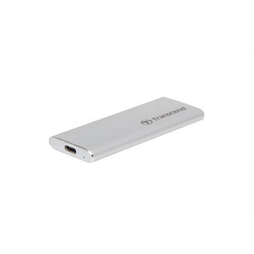 Външен твърд диск Transcend 120GB, External SSD, USB 3.1 Gen 2, Type C (снимка 1)