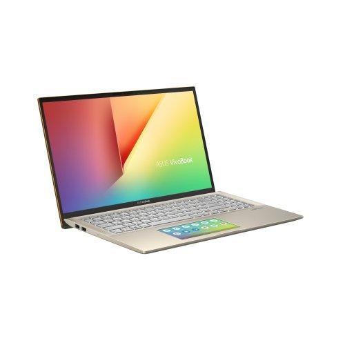 """Лаптоп Asus VivoBook S15 S532FL-BQ068T, зелен, 15.6"""" (39.62см.) 1920x1080 (Full HD) без отблясъци, Процесор Intel Core i5-8265U (4x/8x), Видео nVidia GeForce MX250/ 2GB GDDR5, 8GB DDR4 RAM, 512GB SSD диск, без опт. у-во, Windows 10 64 ОС, Клавиатура- светеща с БДС (снимка 1)"""