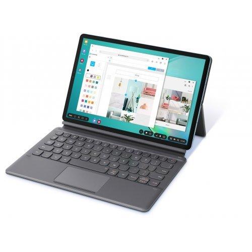 "Таблет Samsung SM-Т865 GALAXY Tab S6, 10.5"" Super AMOLED, 128GB, LTE, Black + Samsung Galaxy Tab S6 Keyboard Cover (снимка 1)"