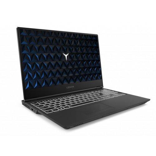 "Лаптоп Lenovo Legion Y540, черен, 15.6"" (39.62см.) 1920x1080 (Full HD) без отблясъци IPS, Процесор Intel Core i5-9300H (4x/8x), Видео nVidia GeForce GTX 1660Ti/ 6GB GDDR6, 8GB DDR4 RAM, 1TB HDD + 128GB SSD диск, без опт. у-во, DOS ОС, Клавиатура- с БДС (снимка 1)"
