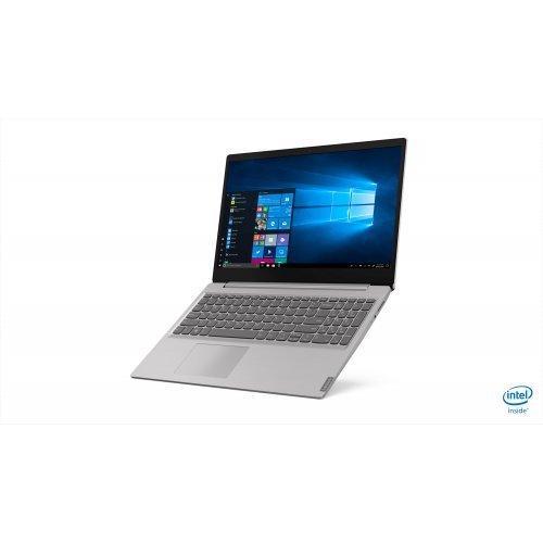 "Лаптоп Lenovo IdeaPad S145, сив, 15.6"" (39.62см.) 1920x1080 (Full HD) без отблясъци, Процесор Intel Core i3-8145U (2x/4x), Видео интегрирана, 4GB DDR4 RAM, 256GB SSD диск, без опт. у-во, DOS ОС (снимка 1)"