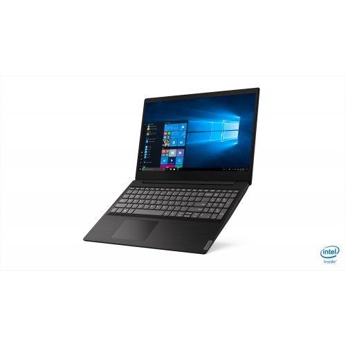 "Лаптоп Lenovo IdeaPad S145, черен, 15.6"" (39.62см.) 1920x1080 (Full HD) без отблясъци, Процесор Intel Core i3-8145U (2x/4x), Видео интегрирана, 4GB DDR4 RAM, 128GB SSD диск, без опт. у-во, DOS ОС (снимка 1)"