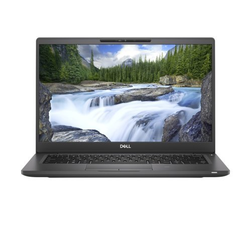 """Лаптоп Dell Latitude 13 7300, черен, 13.3"""" (33.78см.) 1920x1080 (Full HD) без отблясъци, Процесор Intel Core i7-8665U (4x/8x), Видео Intel UHD 620, 8GB DDR4 RAM, 256GB SSD диск, без опт. у-во, Linux Ubuntu 18.04 ОС, Клавиатура- светеща (снимка 1)"""