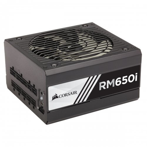 Захранващ блок Corsair Enthusiast RMi Series RM650i Power Supply, Fully Modular 80 Plus Gold 650 Watt (снимка 1)