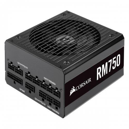 Захранващ блок Corsair RM series RM750 Power Supply, Fully Modular ATX 80 Plus Gold 750 Watt, Modern Standby (снимка 1)