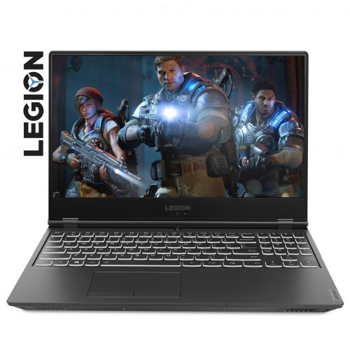 "Лаптоп Lenovo Legion Y540-15IRH, черен, 15.6"" (39.62см.) 1920x1080 (Full HD) без отблясъци IPS, Процесор Intel Core i5-9300H (4x/8x), Видео nVidia GeForce GTX 1650/ 4GB GDDR5, 8GB DDR4 RAM, 256GB SSD диск, без опт. у-во, без ОС, Клавиатура- светеща с БДС (снимка 1)"