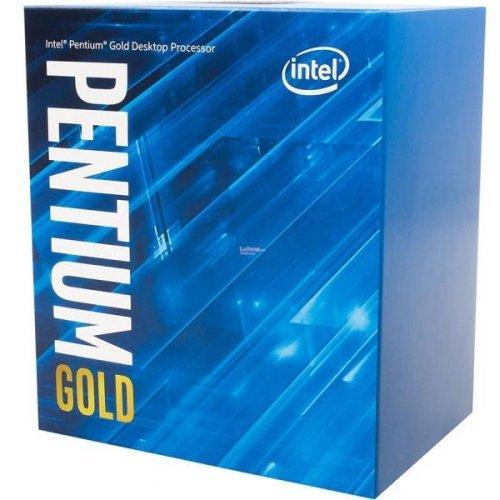Процесор Intel Coffee Lake Pentium Gold G5420 (2c/4t), LGA1151 (300 Series), Box, with Cooler, Intel UHD Graphics 610, 3.8GHz, 4MB L3 Cashe, TDP 54W, 14nm (снимка 1)