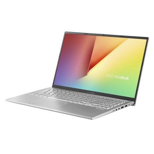 "Лаптоп Asus VivoBook15 X512FJ-EJ320, Intel CoreI7-8565U (up to 3.4GHz, 6MB), 15.6"" FHD (1920x1080) LED AG, 8GB DDR4(1 slot free) , HDD 512G PCIE, NVIDIA GeForce MX230 2GB GDDR5, Linux, Transparent Silver (снимка 1)"