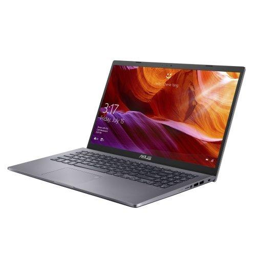 """Лаптоп Asus X509FA-EJ027, Intel Core i5-8265U (up to 3.9GHz, 6MB), 15.6"""" FHD (1920x1080) LED AG, 8GB DDR4(4GB on board) , SATA3 256GB M.2 SSD, Linux, Slate Grey (снимка 1)"""