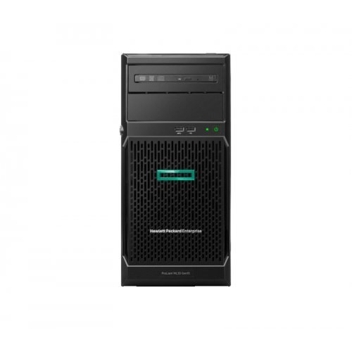Сървър HPE ML30 G10,  E-2134, 16GB-U, S100i, 4LFF SATA, 500W RPS, Performance Server/TV (снимка 1)
